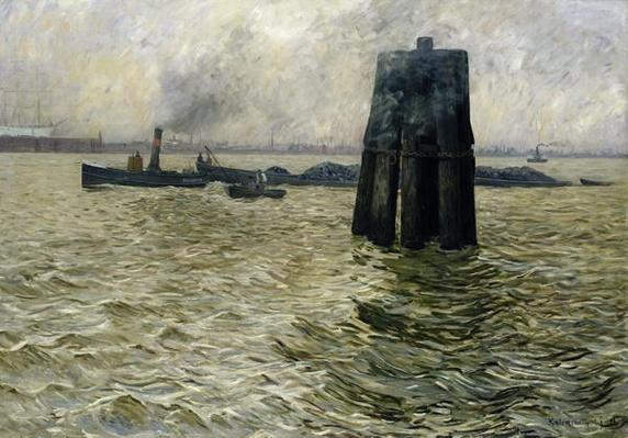 The Port of Hamburg, 1894
