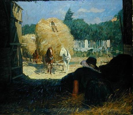 Harvest Time, 1900