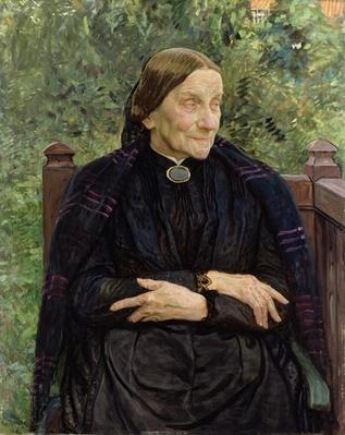Lichtwark's Mother, 1908