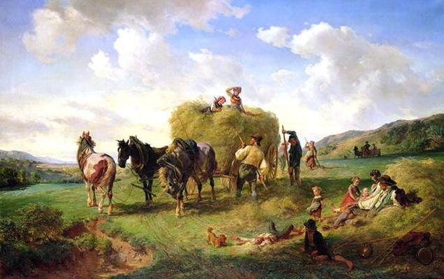 The Hay Harvest, 1869