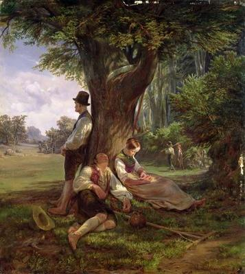 Peasants having a Siesta, 1841