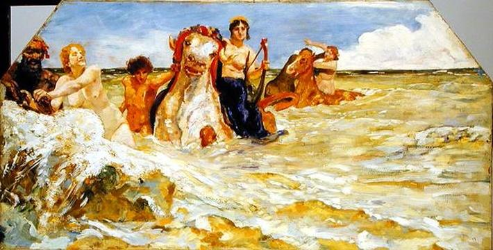 Sea Gods in the Surf, 1884-85
