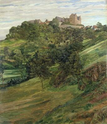 Lichtenberg Castle in Odenwald, 1900
