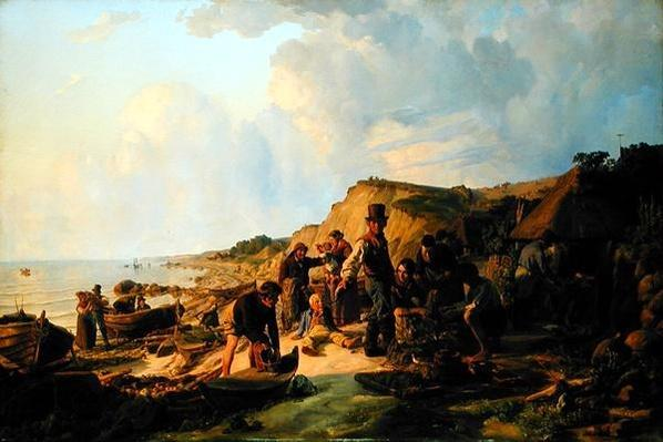 The Homecoming of the Fisherman at Probsteier, 1837