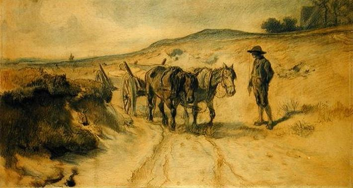 On the Moorland, c.1855