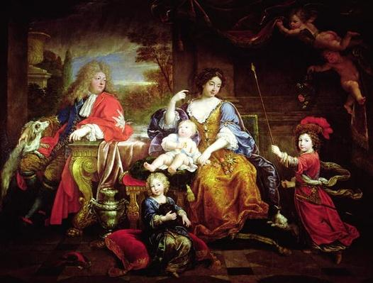 The Grand Dauphin with his Wife and Children, 1687
