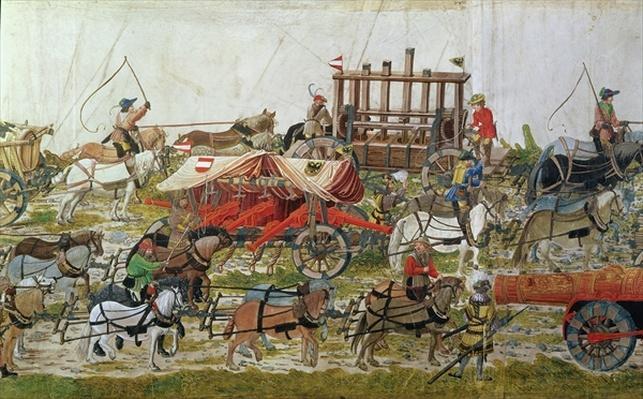 Artillery train of Maximilian I