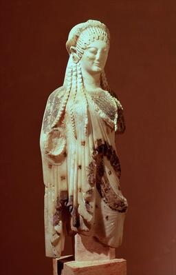 Kore figure, c.510 BC