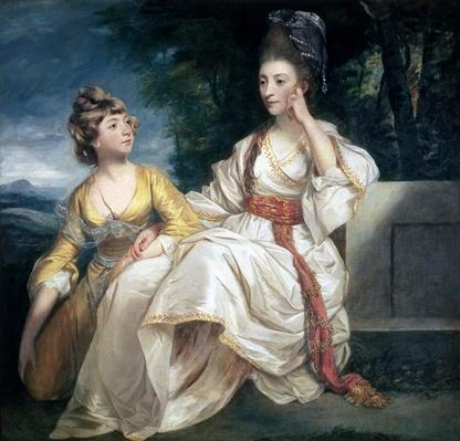 Mrs Thrale and her Daughter Hester