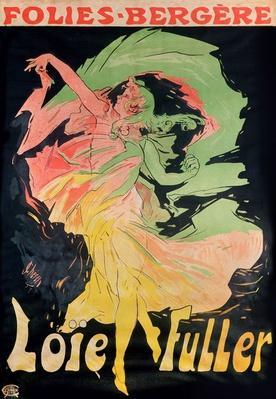 Folies Bergere: Loie Fuller, France, 1897