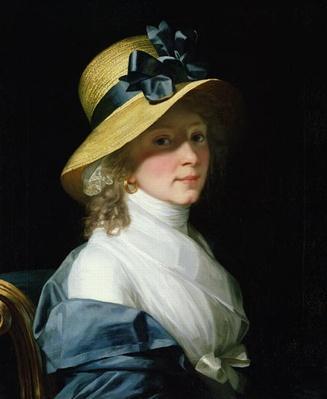 Portrait of Frau Senator Elisabeth Hudtwalcker, nee Moller