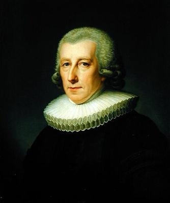 Portrait of Pastor Johann Bernhard Klefeker