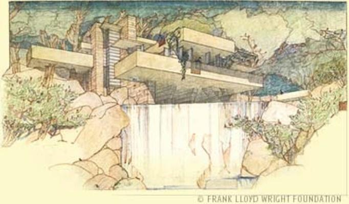 Fallingwater: Intro Design | Ken Burns: Frank Lloyd Wright