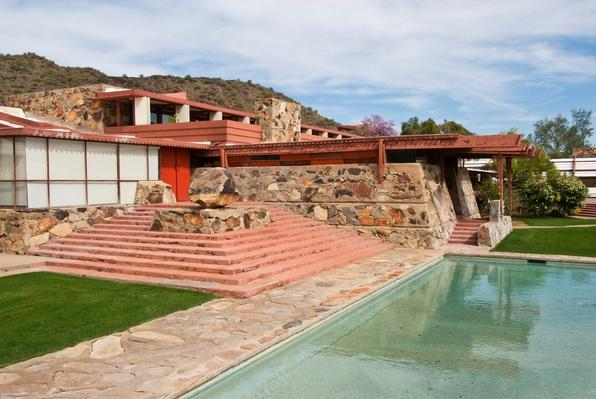 Exterior of Taliesin West | Famous American Architecture