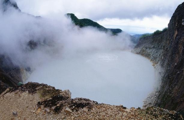 Boiling Lake in the Valley of Desolation | Earth's Surface