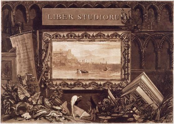 Frontispiece to 'Liber Studiorum', engraved by J. C. Easling