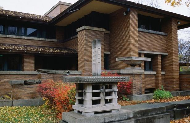 Darwin Martin House by Frank Lloyd Wright | Famous American Architecture