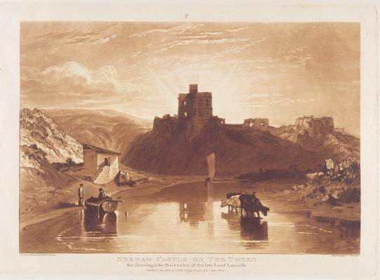 Norham Castle, engraved by Charles Turner