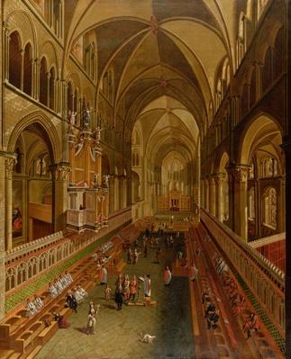 Interior of Canterbury Cathedral, c.1675-1700