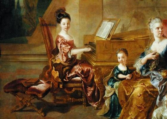 The Franqueville Family, 1711