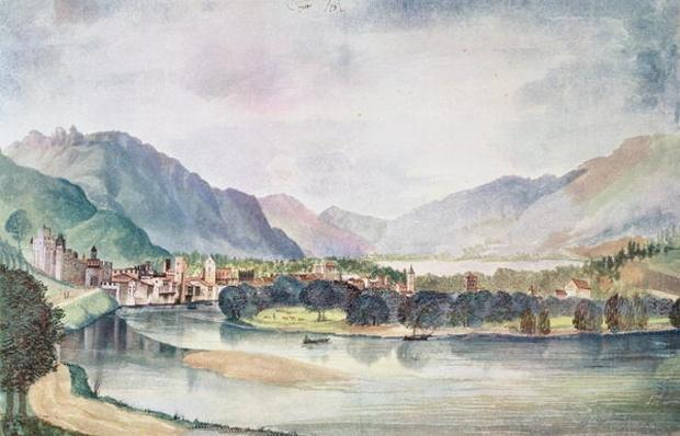 View of Trente, 1494