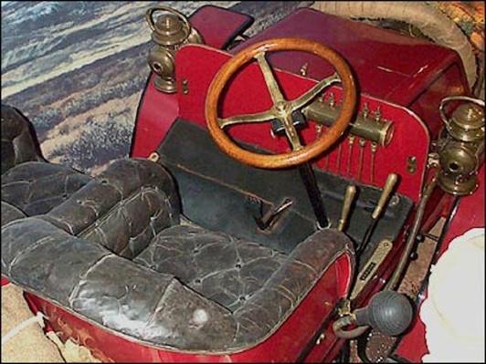 Steering Wheel | Ken Burns: Horatio's Drive