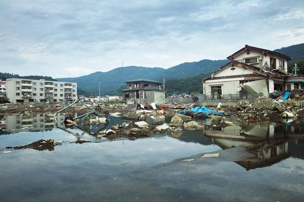 Tsunami damage in Ayukawahama | Natural Disasters: Hurricanes, Tsunamis, Earthquakes