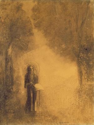 The Walker, Study for 'The walking Buddha'), 1890-95