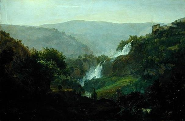 Waterfall near Tivoli, c.1808