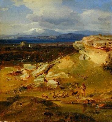 Landscape near Corinth, c.1835