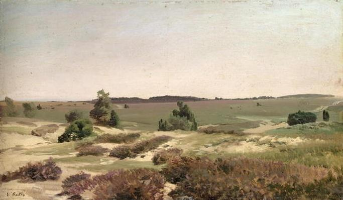 The Heath near Wilsede, 1887