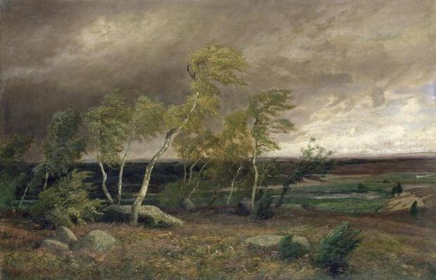 The Heath in a Storm, 1896