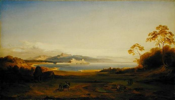 Bay and Harbour in Corfu, c.1842