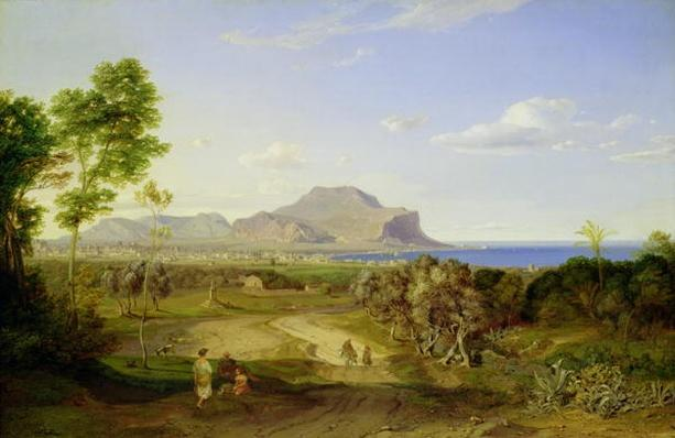 View over Palermo, 1828
