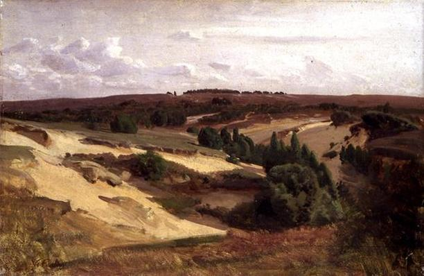 The heath near Bispingen, 1887