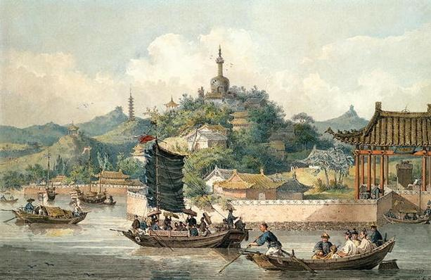 Emperor of China's Gardens, Imperial Palace, Peking, 1793