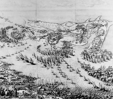 The Siege of the Citadel of Saint-Martin-de-Re in 1627, 1628-31