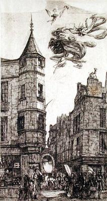 Tourelle, Rue de L'Ecole de Medecine, 22, 1861