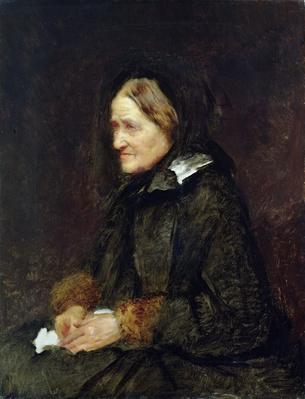 Helene Leibl, the Aunt of the Artist, 1867