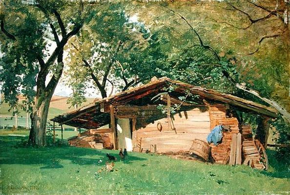 A Hut at Chiemsee, 1872