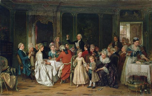 The Toast to the Bride, 1870