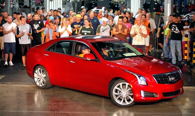 First 2013 Cadillac ATS Rolls Off Assembly Line In Lansing | Evolution of the Automobile