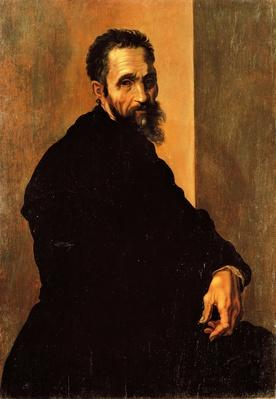 Portrait of Michelangelo, ca 1535, by Jacopino del Conte (1510-1598) | Famous Architects