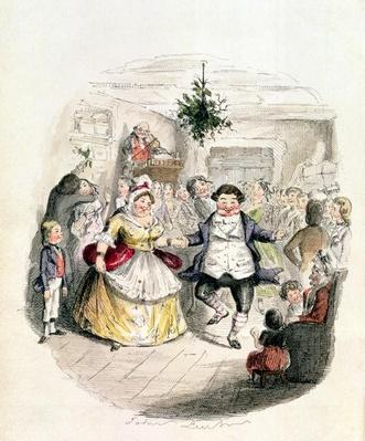 Mr Fezziwig's Ball, from 'A Christmas Carol' by Charles Dickens