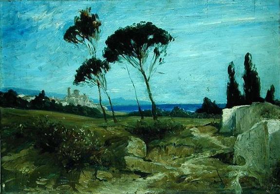 Landscape at Nettuno, 1887