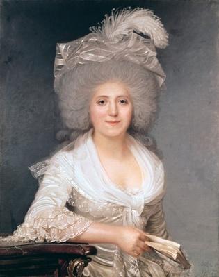 Portrait of Madame Jeanne-Louise-Henriette Campan