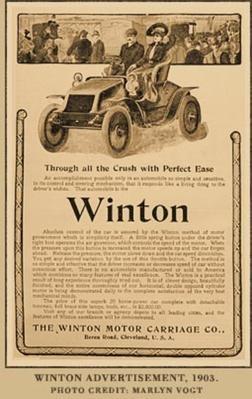 Winton Advertisement | Ken Burns: Horatio's Drive