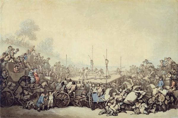 The Prize Fight, 1787