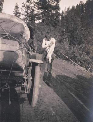 Crocker Washes Off Motor Oil | Ken Burns: Horatio's Drive