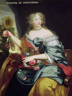 Portrait of Francoise-Athenaise Rochechouart de Mortemart